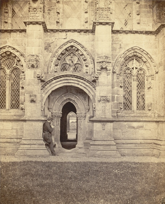 Roslin Chapel, the south door