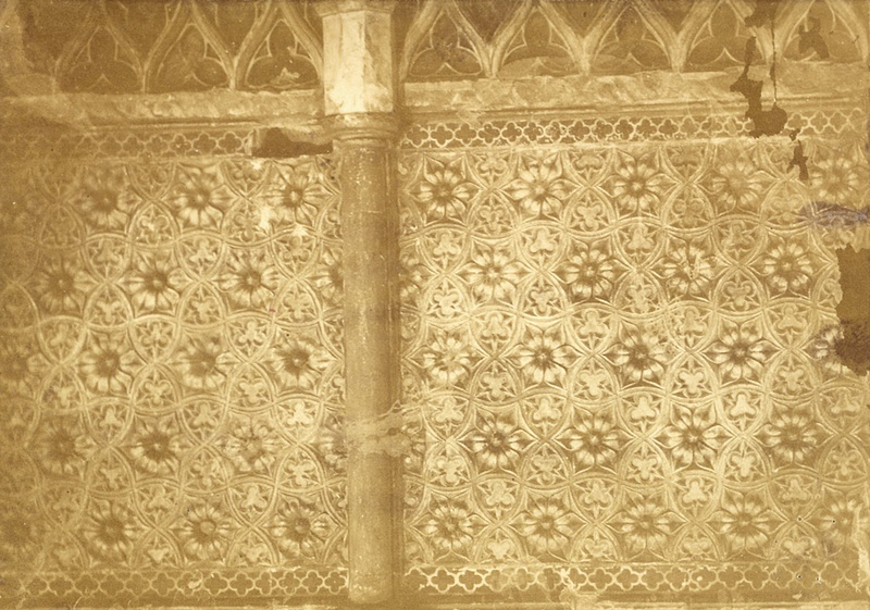 Screen Of The Choir, AD 1304, With Diaper Ornament