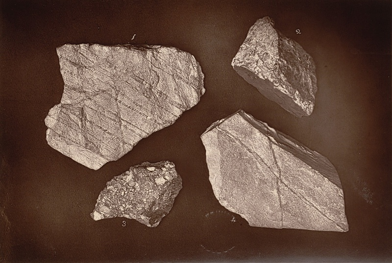 Group Of St Agnes Rock Specimens