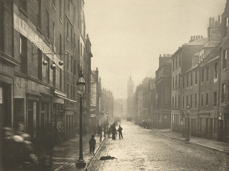 High Street From College Open, 1868