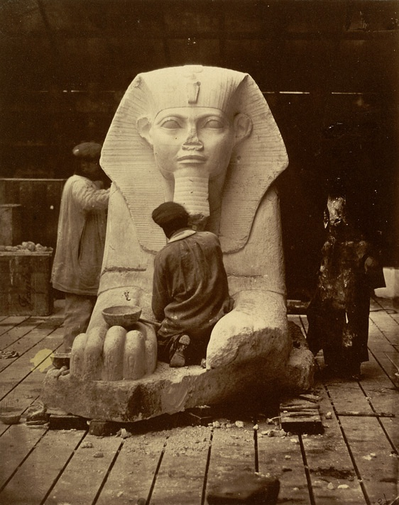 Restoration Of The Great Sphinx From The Louvre