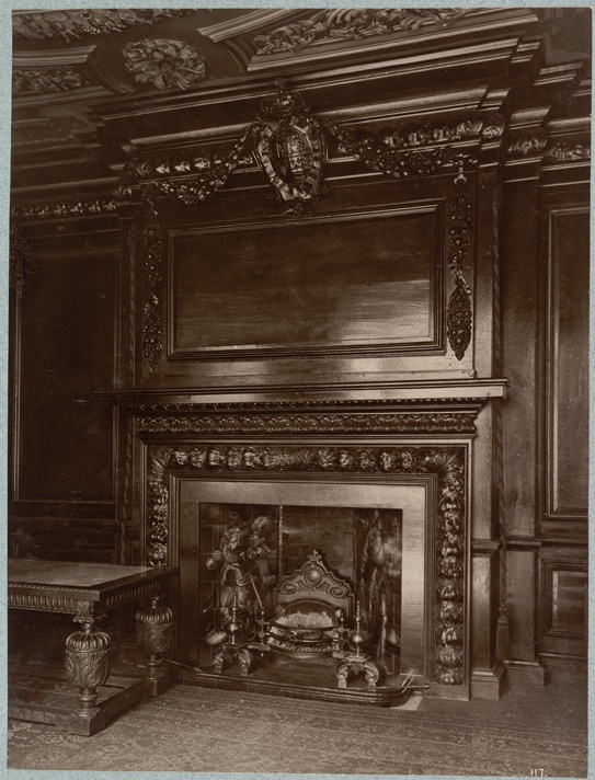 Chimney-Piece, Tallow Chandler's Hall