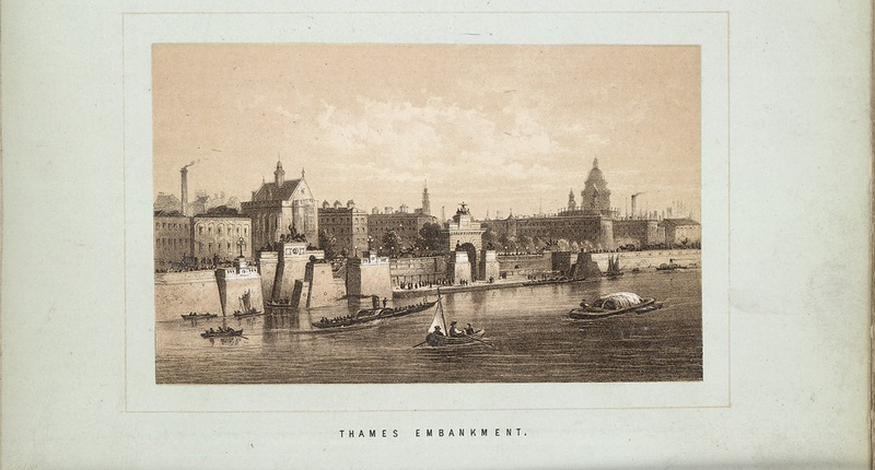 Thames Embankment, London