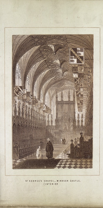 Saint George's Chapel, Windsor Castle, Interior