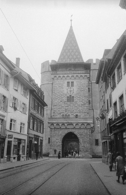 Gate of Spalen, Basel, Switzerland