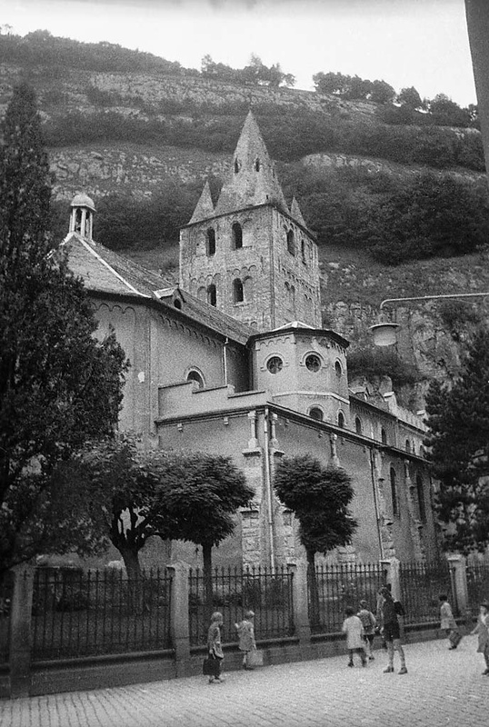 Abbey of Saint-Maurice d'Agaune in Saint-Maurice, Switzerland