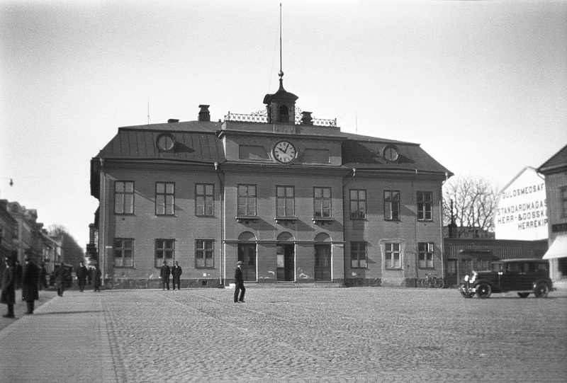The Town Hall in Västervik, Småland, Sweden
